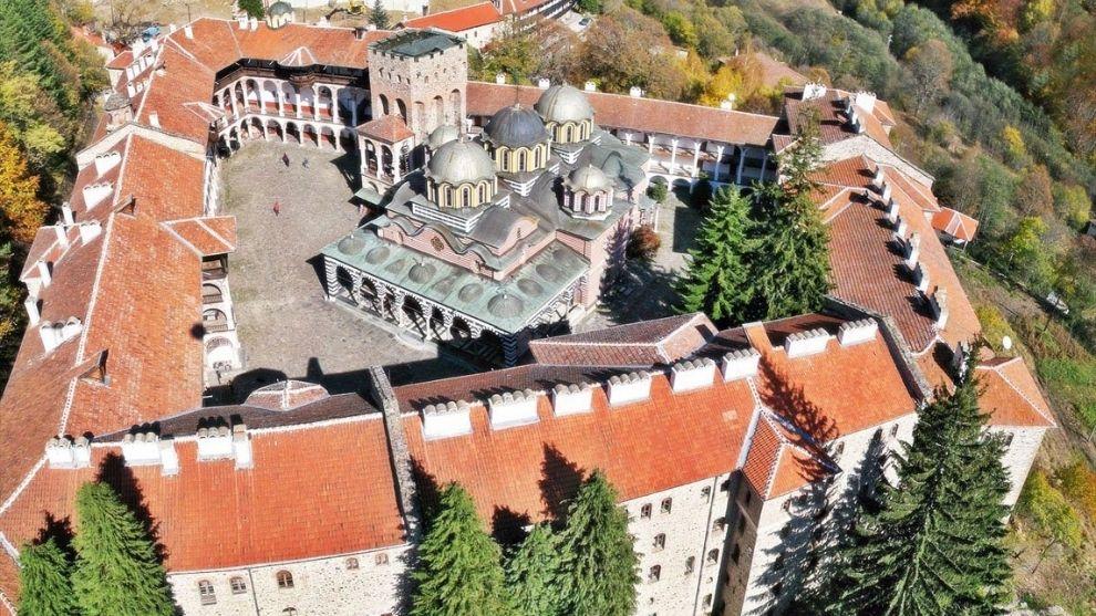 naslovna Manastiri Bugarske